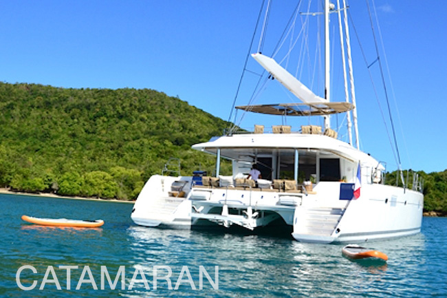 Catamaran Yachts, power or sail