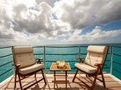 Starboard Side Balcony Deck