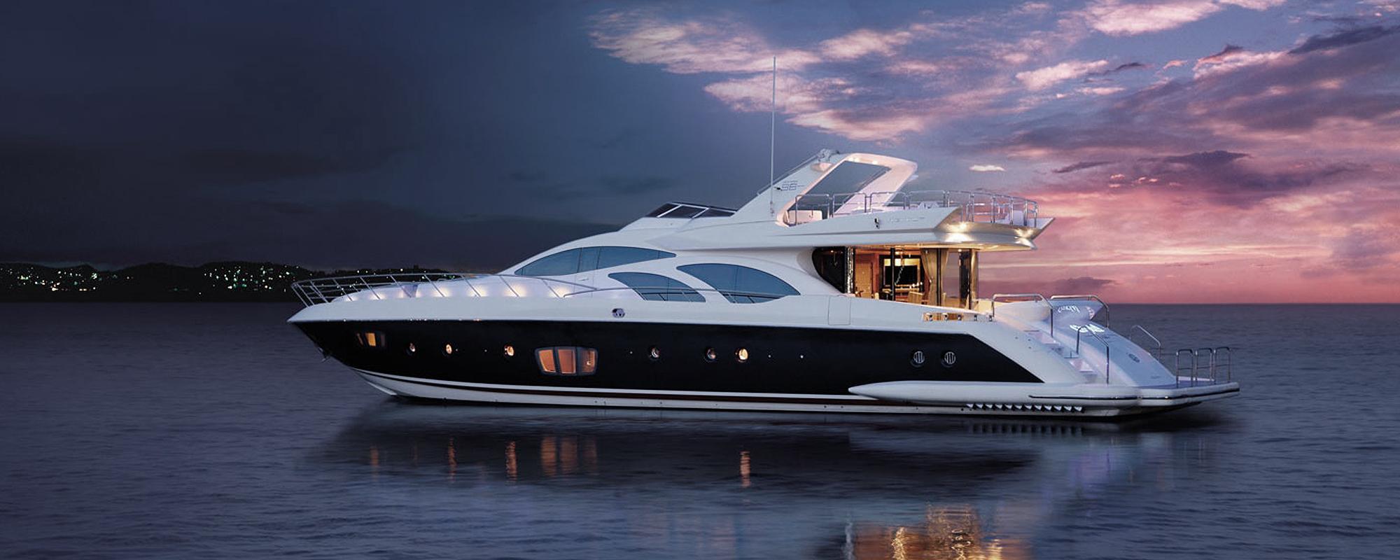 Honeymoon yachts for charter