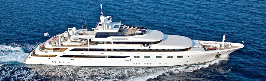 Super luxury mega yacht charter""